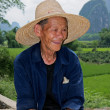 Stock Photo: Old Chinese man