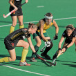 Women's field hockey - Stock Photo