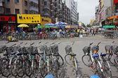 Bicycles, HoHot, northern China — Stock Photo
