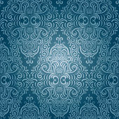 Vector seamless vintage wallpaper — Stockvector