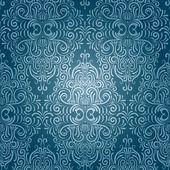シームレスなビンテージのベクトルの壁紙 — ストックベクタ