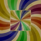 Vector abstract retro background — Stock Vector