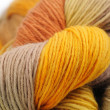 Close-up of colorful wool yarn — Stock Photo #9653621