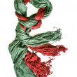 Scarf on white backgorund — Stock Photo