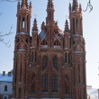 Church os St. Anne in Vilnius — Stock Photo