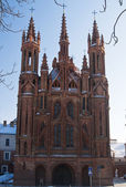 Church os St. Anne in Vilnius — Stock Photo
