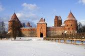 Castle in Trakai, Lithuania — Stock Photo