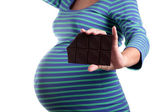 Pregnancy cravings — Stock Photo