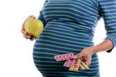 Prenatal care in pregnancy — Stock Photo