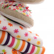 Stack of infant clothes — Stock Photo #8735289