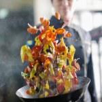 Chef preparing meal — Stock Photo #10005308