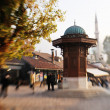 Sarajevo city in bosnia — Stock Photo #10049201
