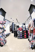 Süslü giyim mağazasında — Stok fotoğraf