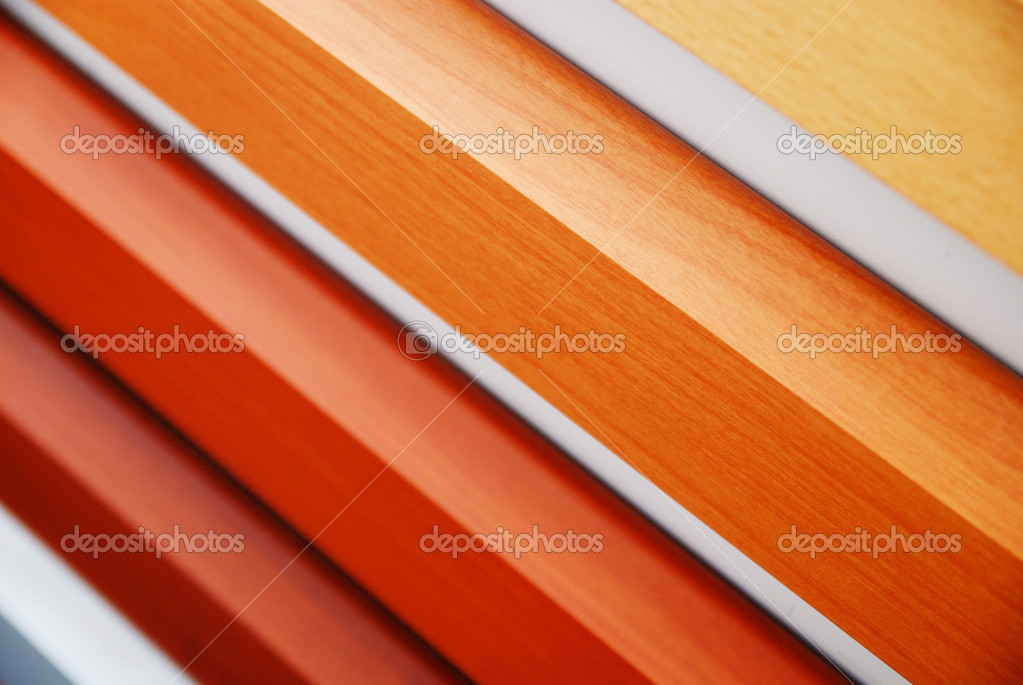 Wood material samples in home decoration store — Stock Photo #10049062