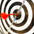 Dart target business concept — Stock Photo #10075704