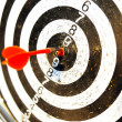 Dart target business concept - Stock Photo