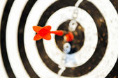 Dart target business concept — Stock Photo