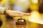 Hotel reception — Stock Photo
