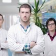 Pharmacy drugstore team - Foto Stock