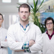 Pharmacy drugstore team - Stockfoto