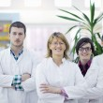 Pharmacy drugstore team — Stock Photo #10611858