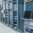 Network server room — Stock Photo #7964948