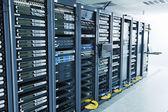 网络服务器机房 — 图库照片