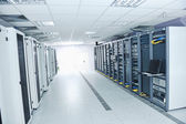 обслуживание сервера сети — Стоковое фото