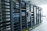Network server room — Stockfoto