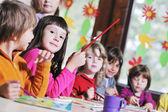 Preschool kids — Stock Photo
