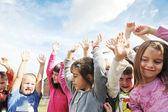 Dzieci w wieku przedszkolnym — Zdjęcie stockowe
