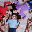Happy young family have fun at home — ストック写真 #8491222
