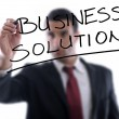 Business solutions - Stock Photo