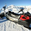 Snow sledge mobile — Stock Photo #9233108