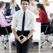 Young business man at meeting — Foto de Stock