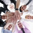 Business group joining hands — Stock Photo #9433550