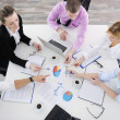 Business team on meeting — Stock Photo #9433590