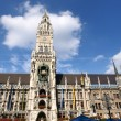 Munchen marienplatz — Stock Photo #9525700