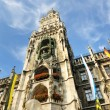 Munchen marienplatz - Stock Photo