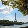 Eiffel tower in paris at day — Stock Photo #9527615