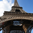 Eiffel tower in paris at day — Stock Photo