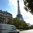 Eiffel tower in paris at day — Stock Photo #9529316