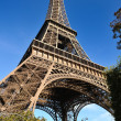 Eiffel tower in paris at day — Stock Photo #9529966