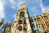 Munchen marienplatz — Stock Photo