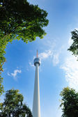 Tv tower building — Stock Photo