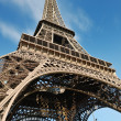 Eiffel tower in paris at day — Stock Photo #9532015