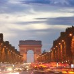Arc de Triomphe, Paris, France — Stock Photo