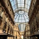 Galleria vittorio emanuele ii in Milaan, Italië — Stockfoto