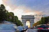 Triumfbågen, paris, Frankrike — Stockfoto