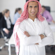 Royalty-Free Stock Photo: Arabic business man at meeting